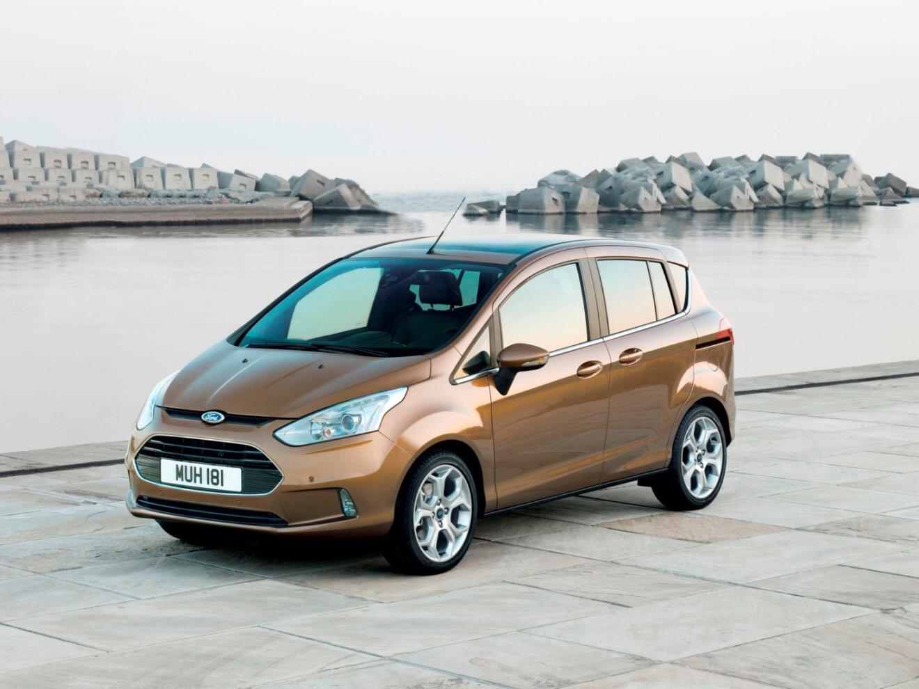 Výroba Fordu B-MAX zahájena