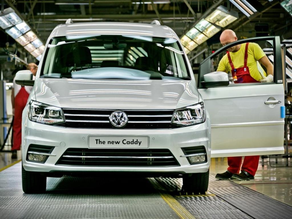 Výroba Volkswagenu Caddy zahájena