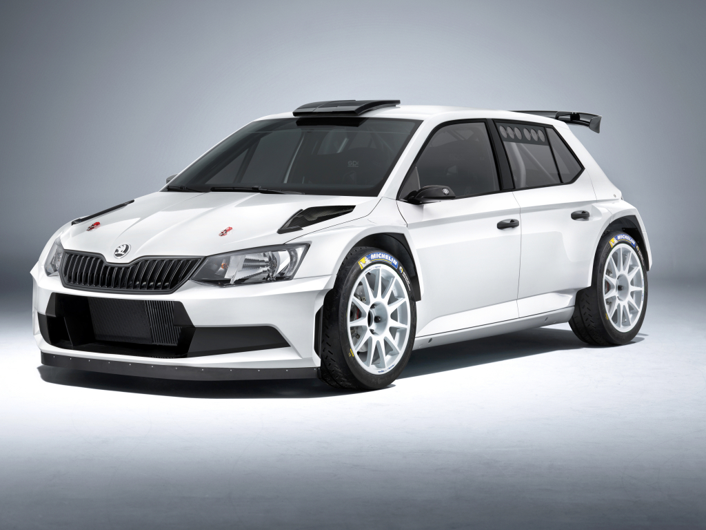 Závodní Škoda Fabia R 5 získala homologaci a nic ji nebrání závodění