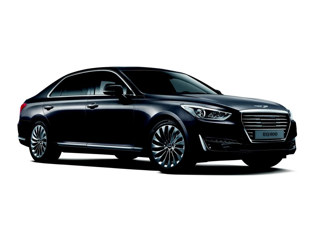 Značka Genesis představila svůj první model - luxusní limuzínu G90