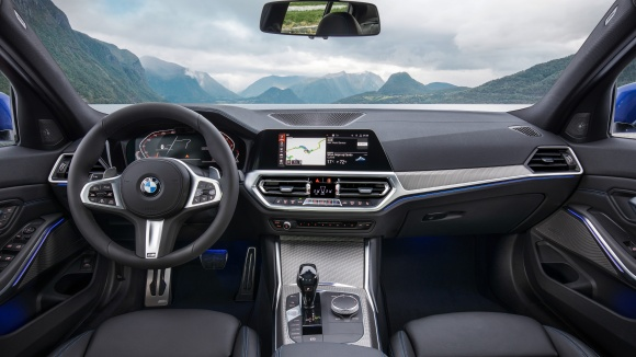 new bmw 3 interior