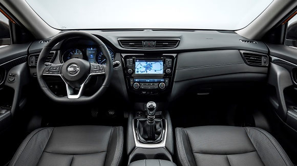 new nissan x-trail interior
