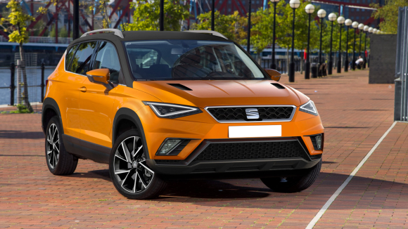 new seat arona, small suv