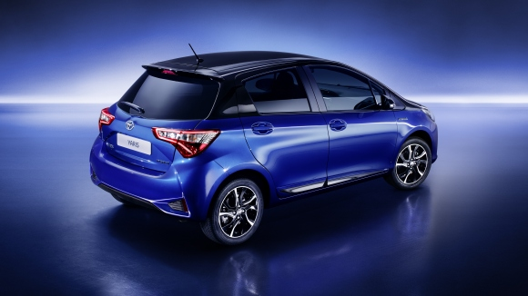 toyota yaris second facelift 2017